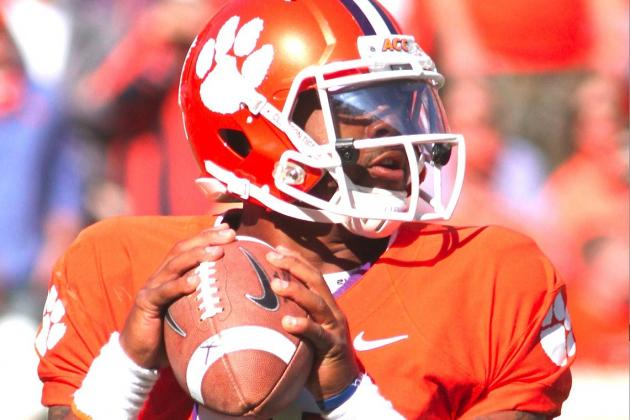 Clemson QB Tajh Boyd Will Remain in School for Senior Season