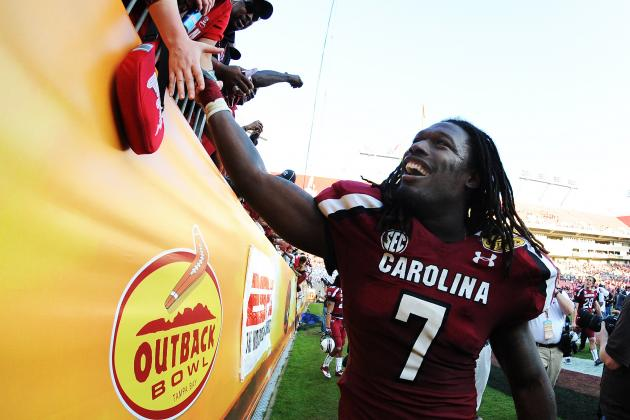 Gamecocks' Clowney Voted All-America Player of Year by Fans