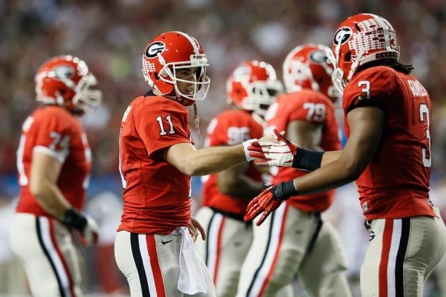 Georgia Football: Will Bulldogs Have Best 2013 Offense with Aaron Murray Back?