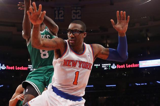 Stoudemire's minutes to be cut due to soreness following Knicks-Celtics game