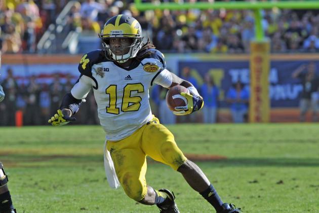 Michigan's Denard Robinson to Play Wide Receiver in Senior Bowl