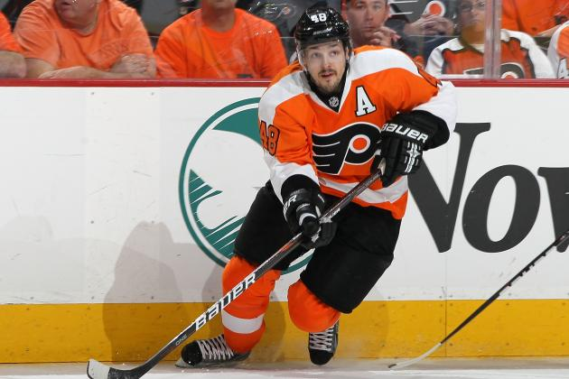 Flyers' GM Admits Briere's Wrist Injury Is a 'Bit of a Concern'