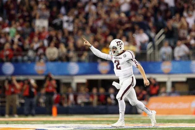 Johnny Football's Good Times There for World to See