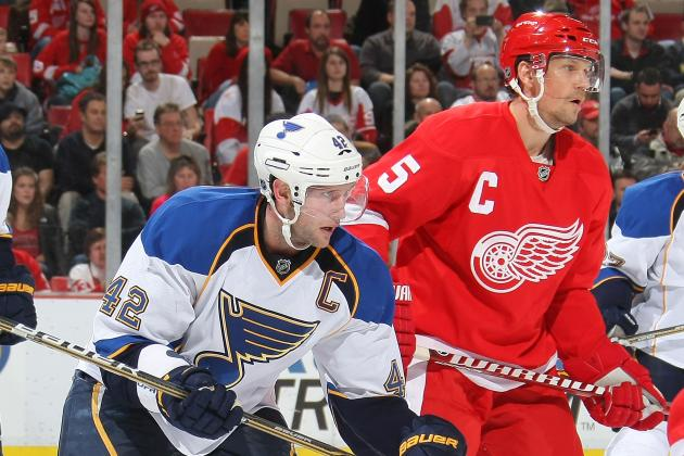 Report: Red Wings, Blues to Face off in Season Opener