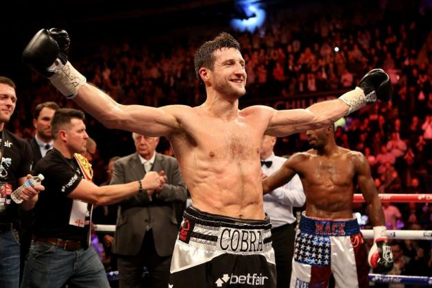 Froch-Kessler2 Close to Being Done; Carl May Give Up IBF Strap