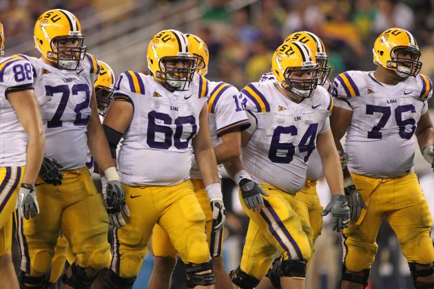 OT Chris Faulk the Latest LSU Junior to Declare for the NFL Draft