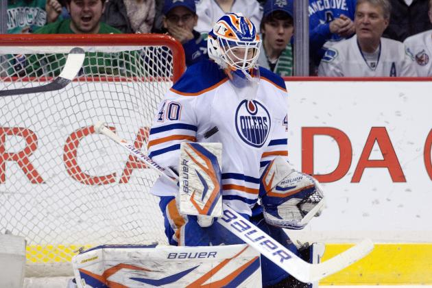Devan Dubnyk Will Be Key to Edmonton's Playoff Hopes in 2013