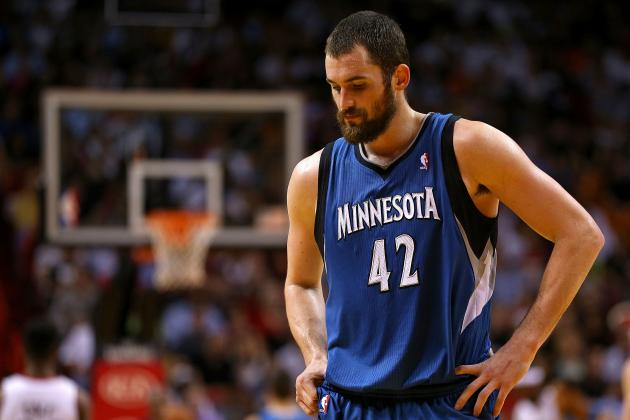 Kevin Love Injury: Timberwolves Star Will Reportedly Miss at Least 2 Months