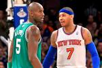 Carmelo Suspended 1 Game for Confrontation with KG