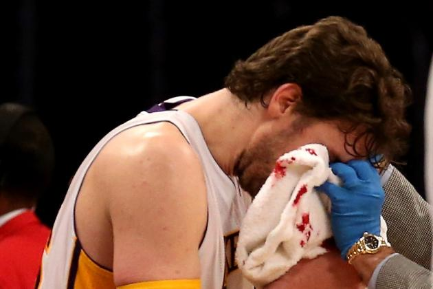 Pau Gasol: Lakers' Handling of Forward's Concussion Is Pleasant Sight
