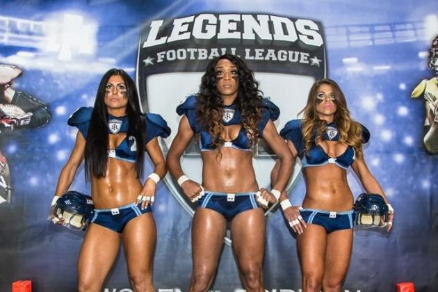 Lingerie Football League Rebrands Itself as Legends Football League
