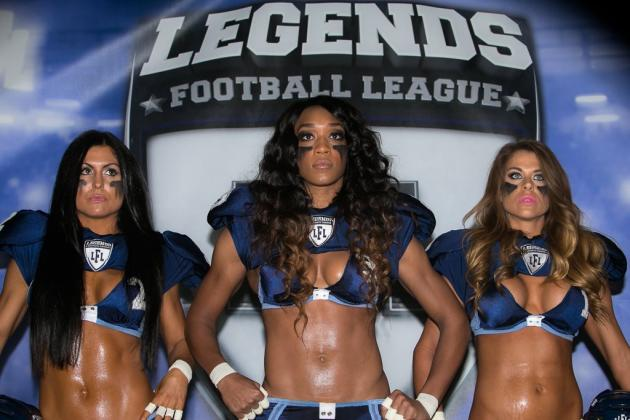 Lingerie Football League Now Less-Interesting Legends Football League