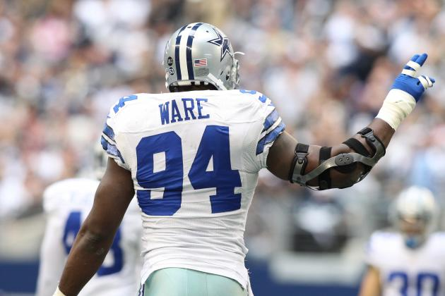 DeMarcus Ware Injury: Updates on Cowboys Star's Shoulder