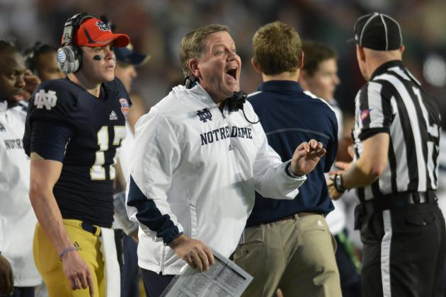 Sources: Eagles Are Interested in Notre Dame's Brian Kelly