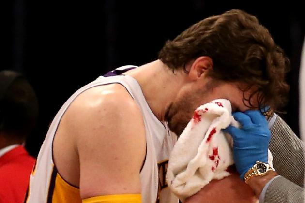 Lakers News: Assessing Pau Gasol's Trade Value While He Battles Concussion