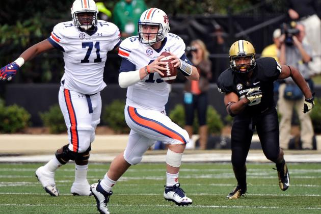 Auburn QB Clint Moseley Reportedly Will Not Return to Tigers in 2013