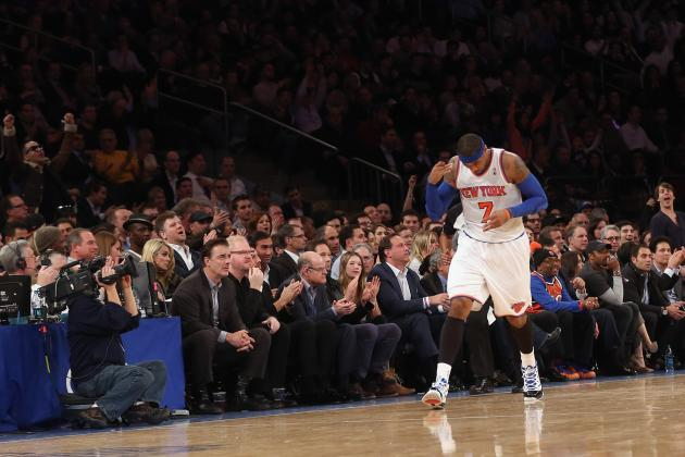 Why 2013 Will Finally Be Carmelo Anthony's Historic MVP Season