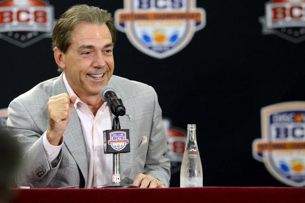Alabama Football Recruiting: Crimson Tide in for Huge 2014 Haul After BCS Title