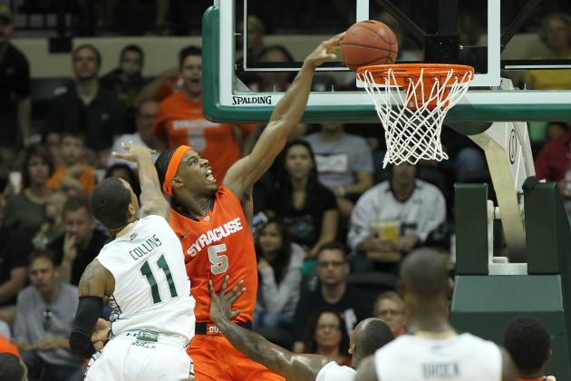 Fair Helps No. 7 Syracuse Rally Past Providence