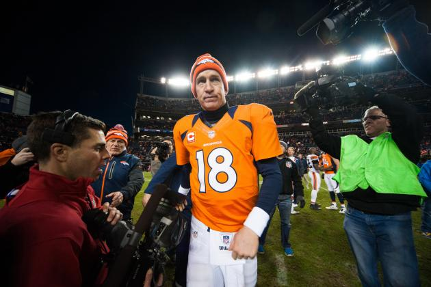 Broncos' Peyton Manning Looking to Buck Trend of Playoff Misfortune vs. Ravens