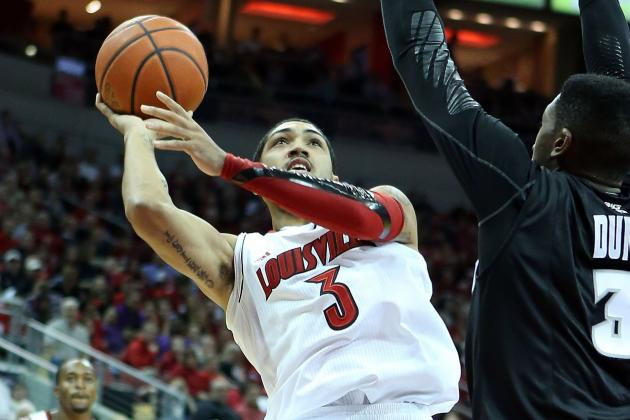 Dieng's Double-Double Leads Louisville Past Seton Hall