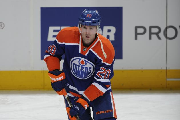 Oilers Forward Eric Belanger Expects a Lot of Short Shifts Early in the Season