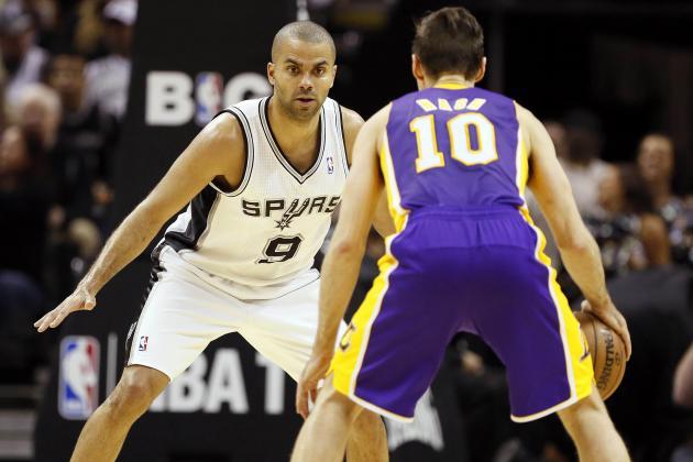 NBA Gamecast: Lakers vs. Spurs
