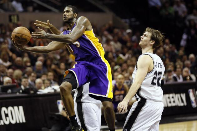 Clark's Heroics Fail to Lift Lakers Past Spurs