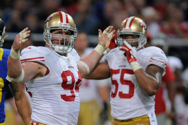Hardworking Justin Smith Is a Rock for 49ers Defense