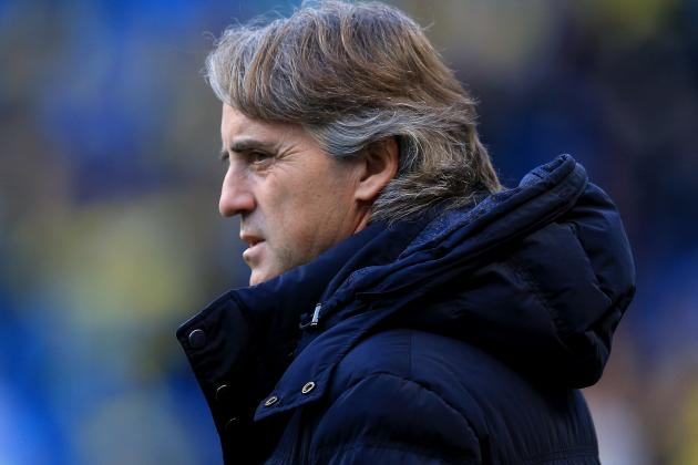 Roberto Mancini Cleared by FA over Remark That Referee 'ate Too Much'