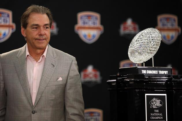 Alabama Football Recruiting: National Title Will Lead to Top 2013 Class for Tide