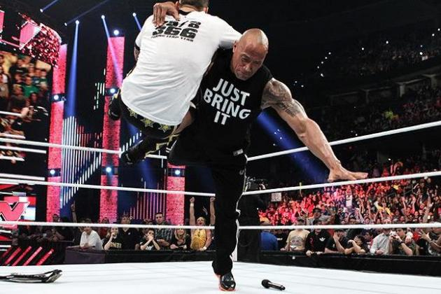 WWE News: The Rock Helps Lift Monday Night Raw to a Strong Start in 2013