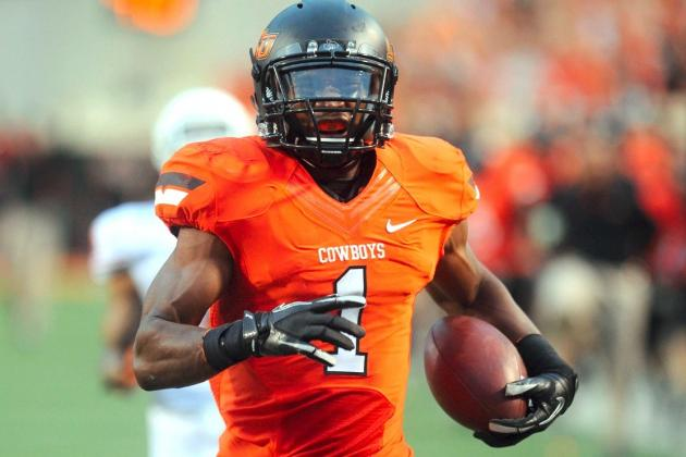 Oklahoma State RB Joseph Randle Will Enter 2013 NFL Draft