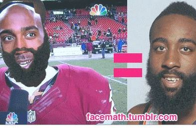 James Harden and DeAngelo Hall Are Doppelgangers