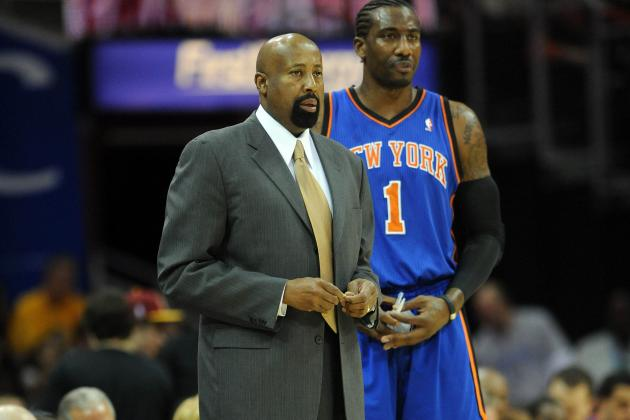 Doctors Tell Woodson to Reduce Stoudemire's Minutes