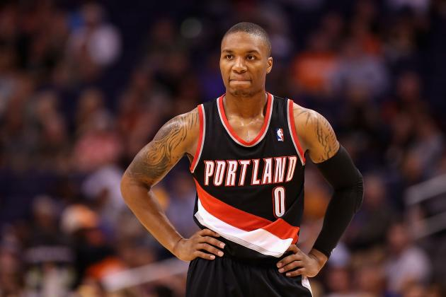 LeBron James Endorses Damian Lillard as NBA Rookie of the Year