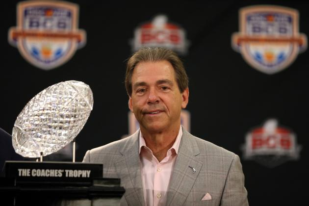 Alabama Coach Nick Saban Rules out Return to NFL