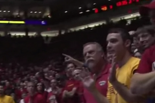 Fan Ejected for Pushing UNLV Player