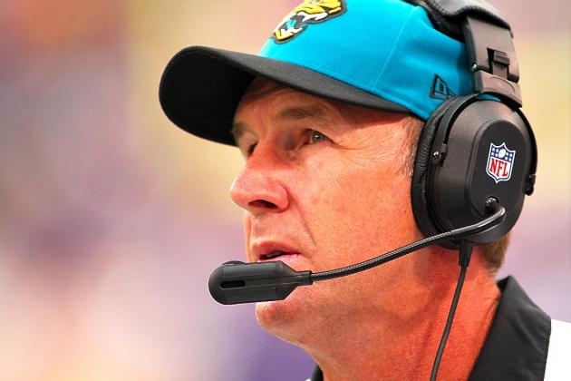 Jacksonville Jaguars Fire Head Coach Mike Mularkey