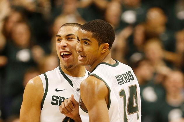 Tom Izzo: Michigan State's Gary Harris, Branden Dawson Improving