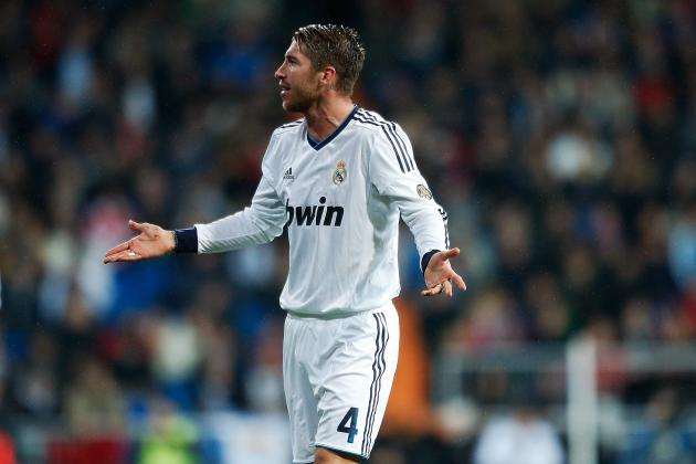 Sergio Ramos Handed Five-Game Ban