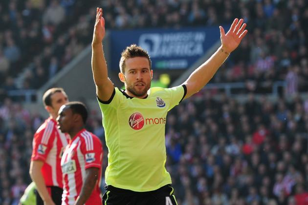 Yohan Cabaye May Be on the Newcastle Bench at Carrow Road This Weekend