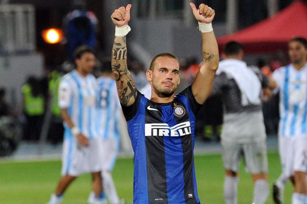 Wesley Sneijder Transfer Rumours: Inter Milan Accepts Offer from Galatasaray