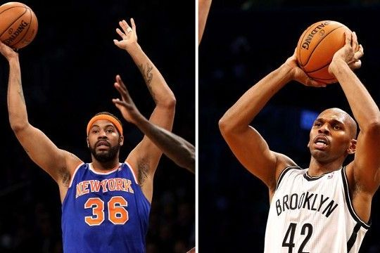 Sheed and Stack in the Big Apple