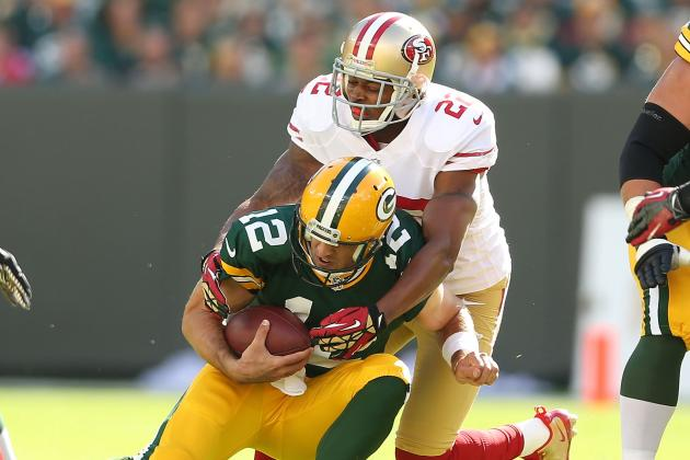 Niners DB Admits It's 'Gonna Be Tough' Keeping Rodgers in Check Again