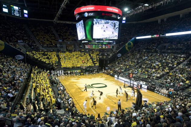 Arizona Gets First Look at Oregon's Wild Matt Knight Arena