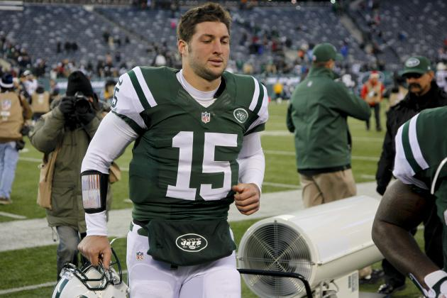 Tim Tebow: Breaking Down Top Potential Destinations for Disgruntled Jets QB