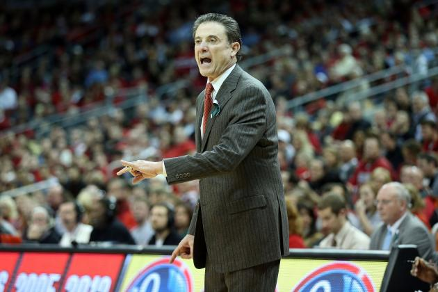 Louisville Basketball Coach Rick Pitino Picks on U of L's Defense