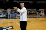 A&M Coach Busts Out Worst Moonwalk Ever
