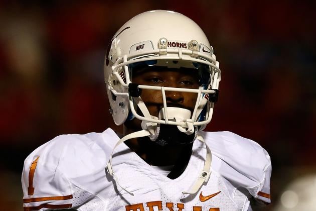 Texas Wide Receiver Mike Davis to Enter NFL Draft